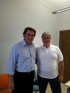 Il direttore  Salvatore Piazza e Umberto Buzzoni