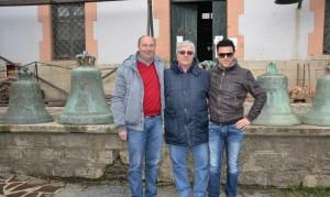 Biase Totaro, Umberto Buzzoni e Alberto Iaciancio
